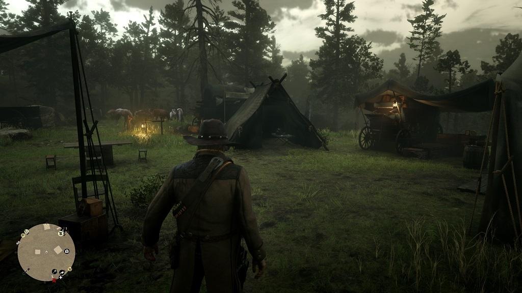 Red Dead Redemption 2; screenshot