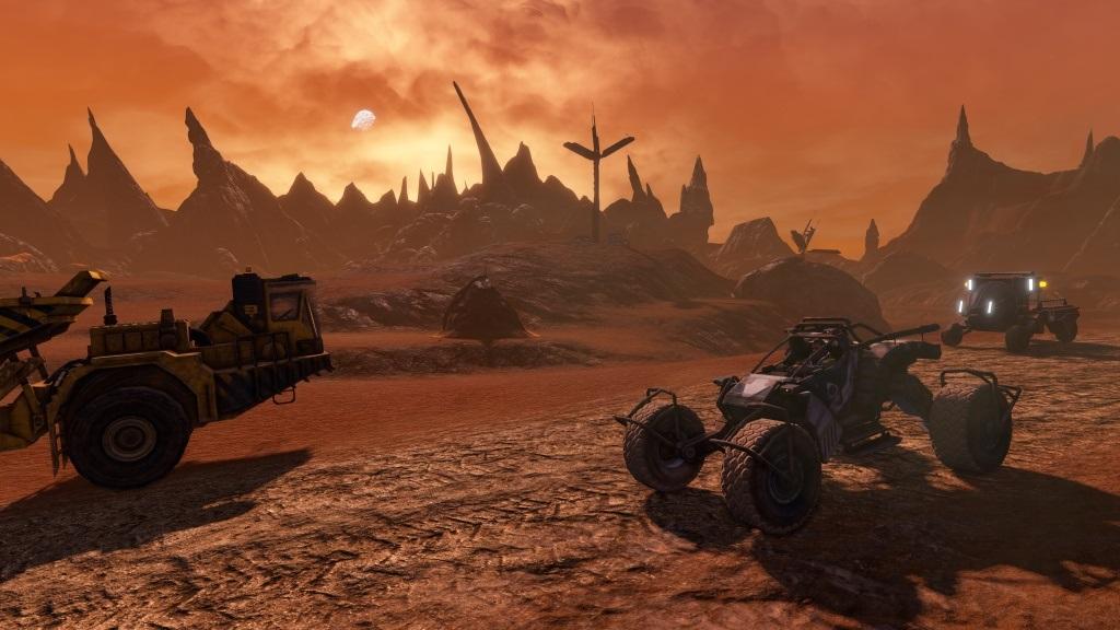 Nejočekávanější hry v červenci a srpnu 2018; Red Faction: Guerrilla Re-Mars-tered, screenshot: grafika