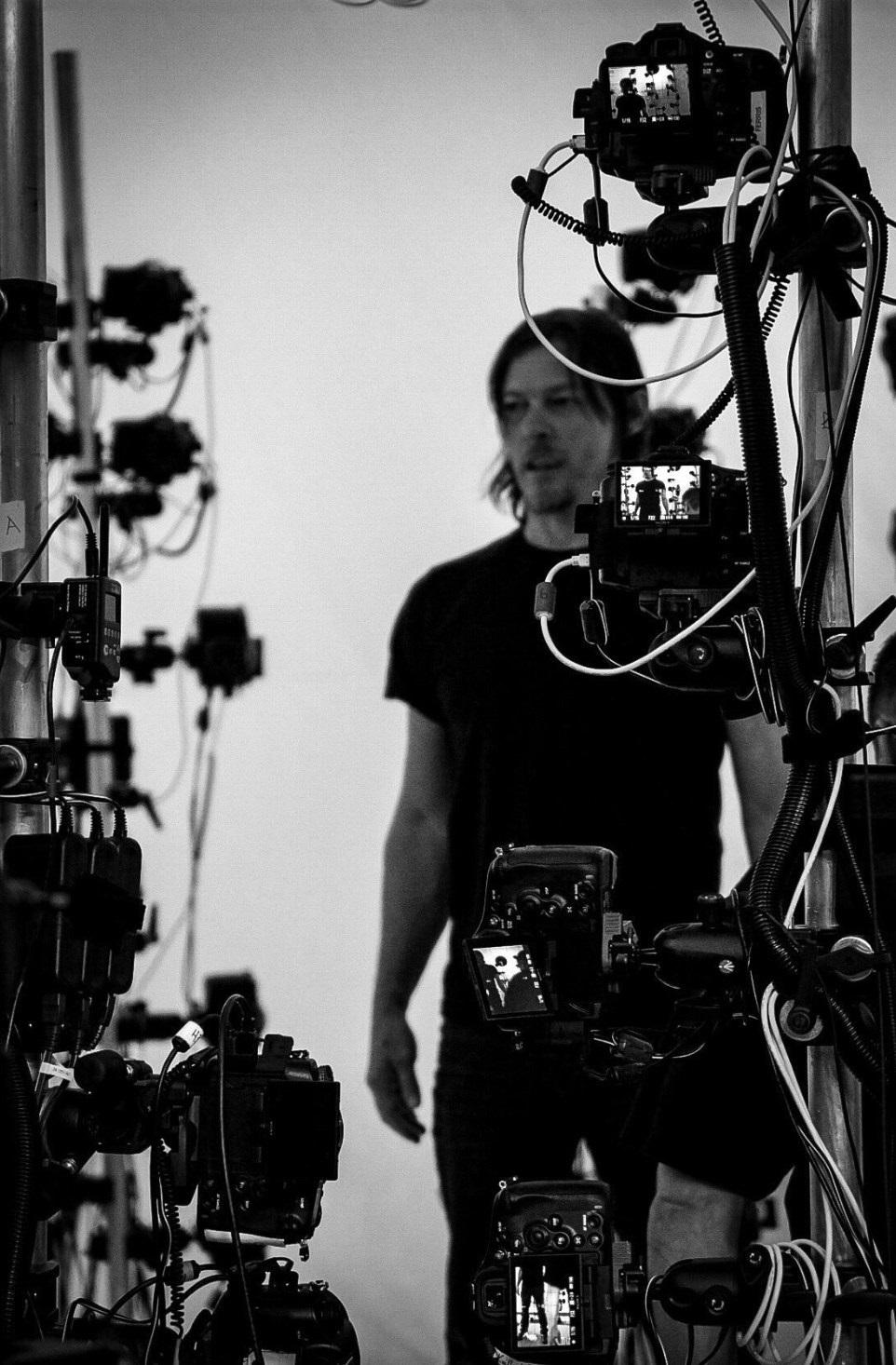 Death Stranding; screenshot: Reedus motion capture
