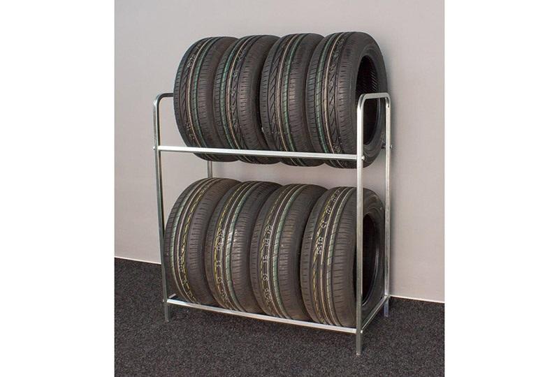 Abris Regál na 8 pneumatik