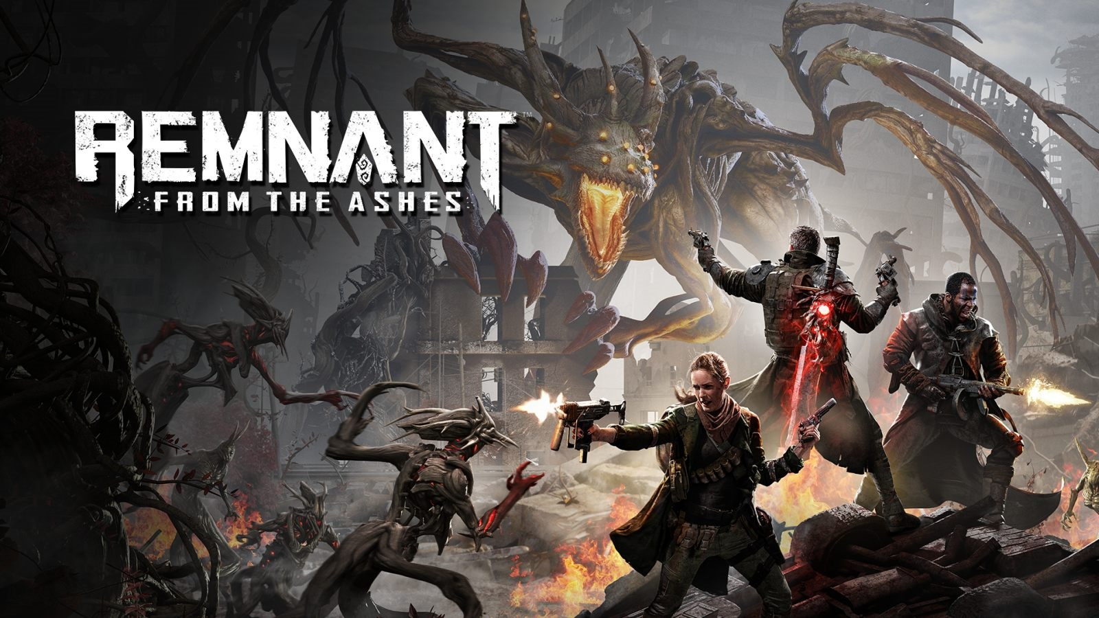Remnant: From the Ashes; wallpaper: cover
