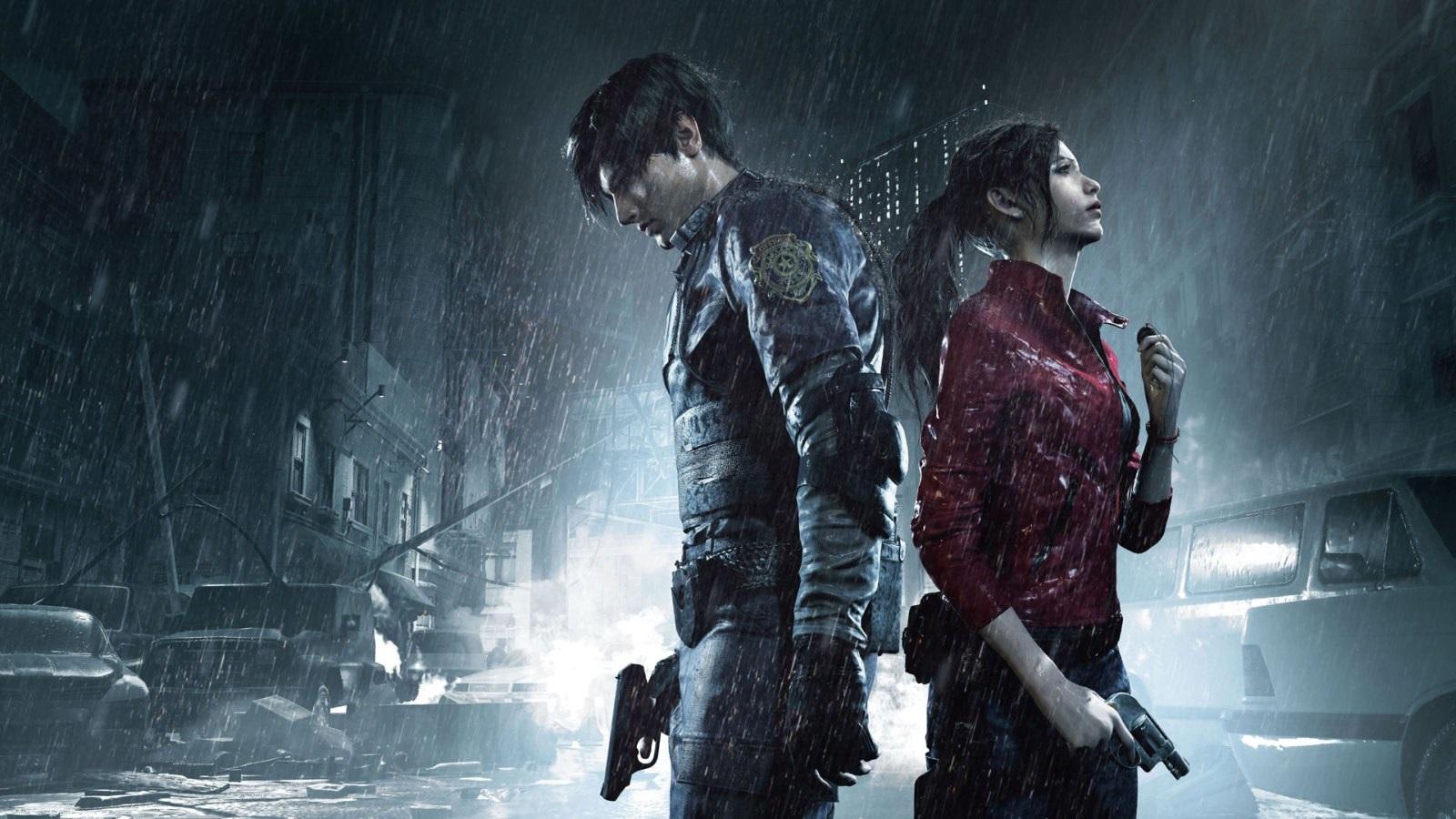 Nejočekávanější hry roku 2019; Resident Evil 2, screenshot: cover