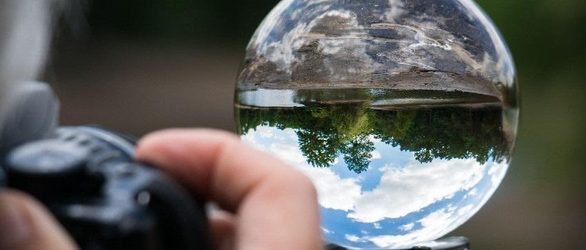 Rollei Lensball, zrcadlová kompozice