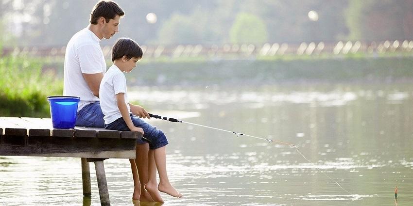 Rybaření s dětmi