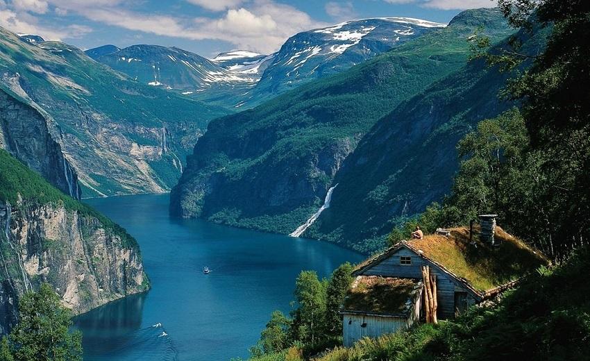 Rybaření v Norsku