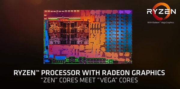 AMD Ryzen Mobile (Raven Ridge), výkonné CPU pro notebooky