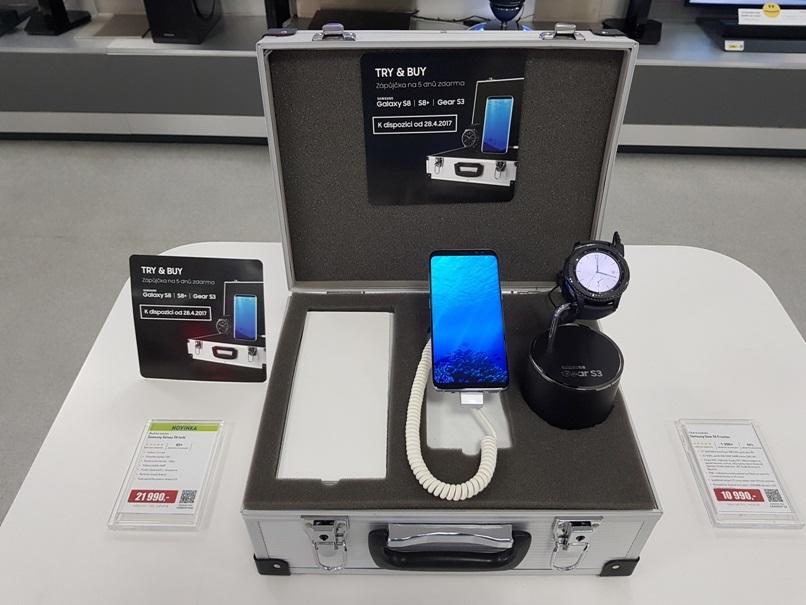 Samsung Galaxy S8 k zapůjčení