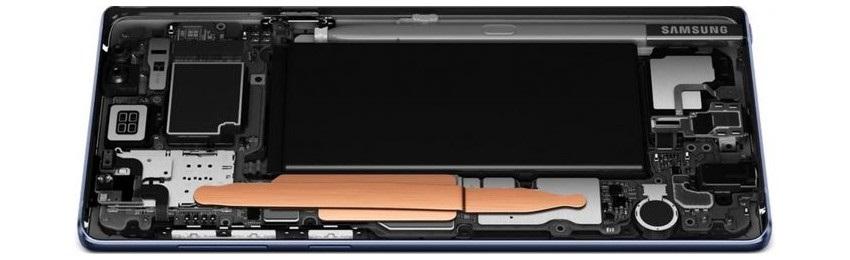 Samsung Galaxy Note9, baterie