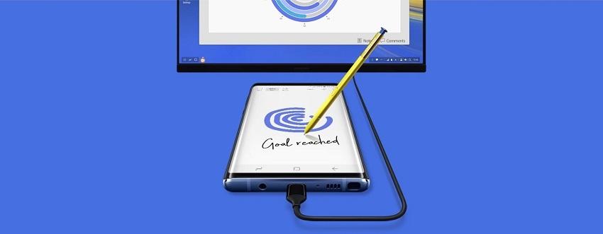 Samsung Galaxy Note9; recenze; režim DEX