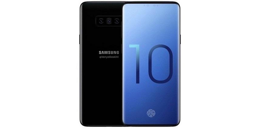 Samsung Galaxy S10 bez rámečků
