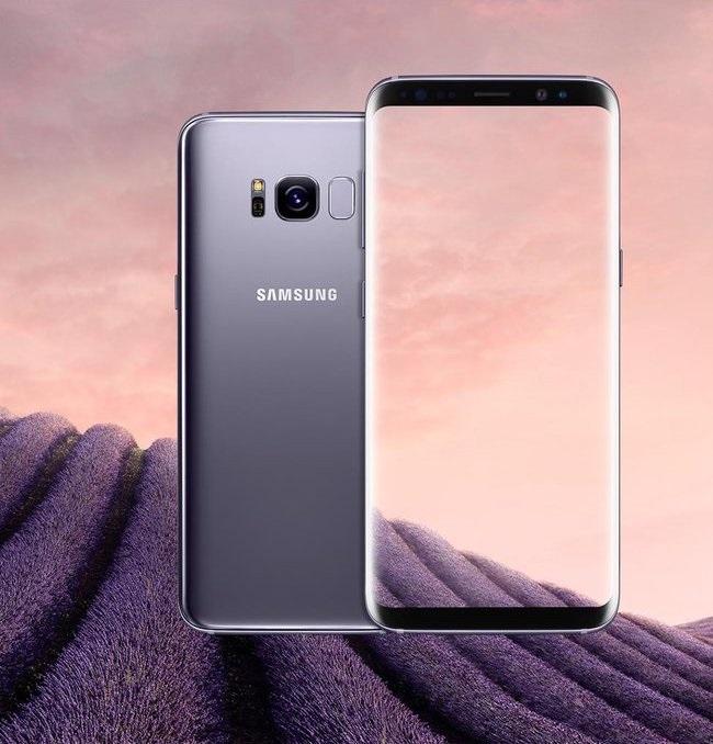 Samsung Galaxy S8 - stříbrná