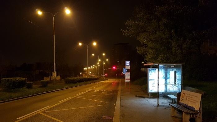 Samsung Galaxy S8 Fotka ve tmě