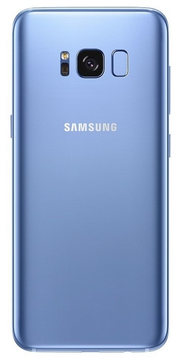 Samsung Galaxy S8 - zadní strana