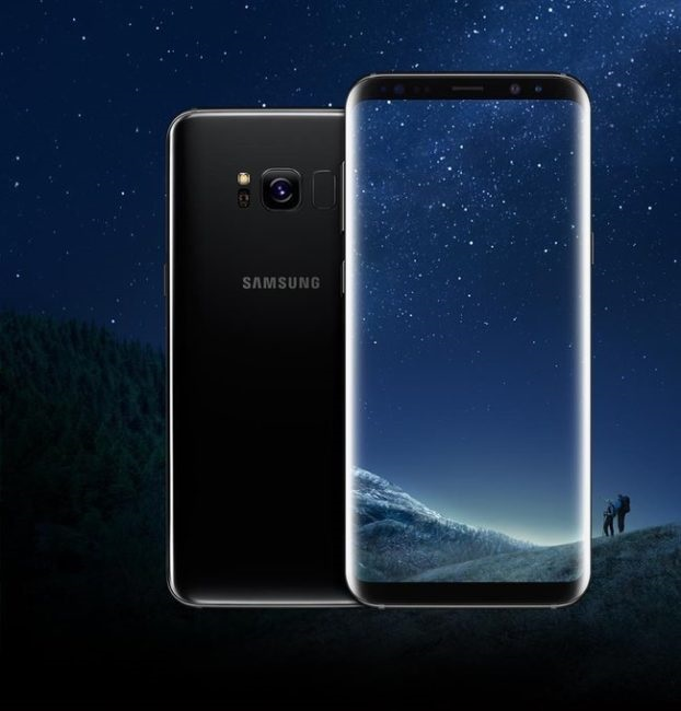 Samsung Galaxy S8 - černá