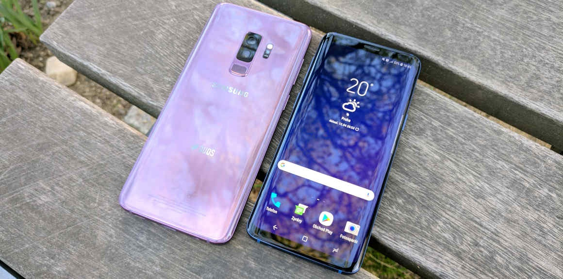 Samsung Galaxy S9; mobilní telefon