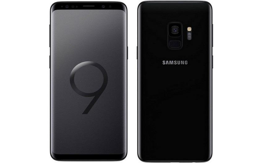 Samsung Galaxy S9, černý
