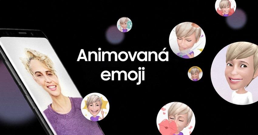 Samsung Galaxy S9; emoji