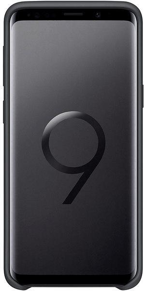 Silicon cover černý, Samsung Galaxy S9