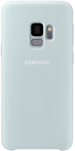 Silicon cover - modrý, Samsung Galaxy S9