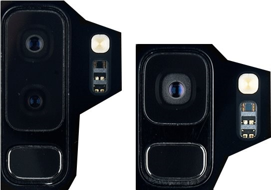 Samsung Galaxy S9, fotoaparáty