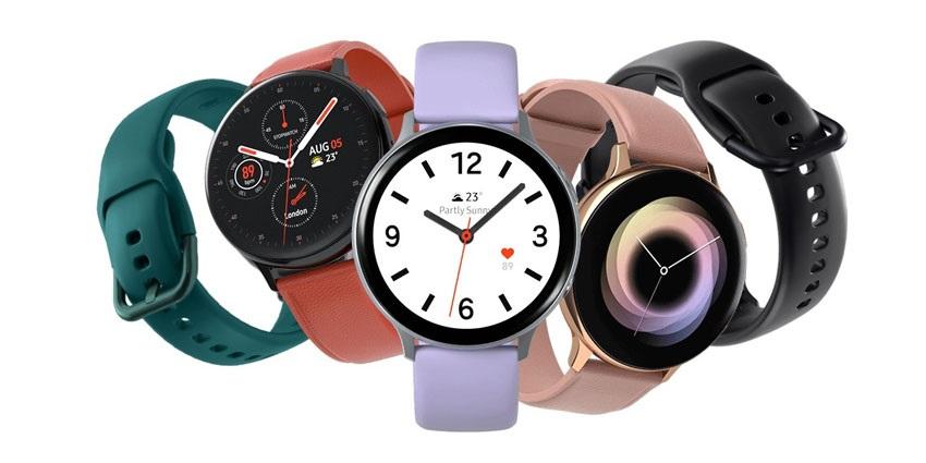 Barevné varianty Galaxy Watch Active2
