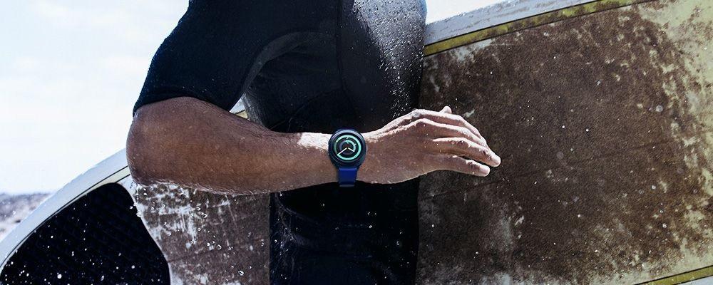 Samsung Gear Sport, surf