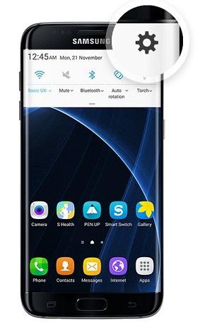 Samsung - nastavení
