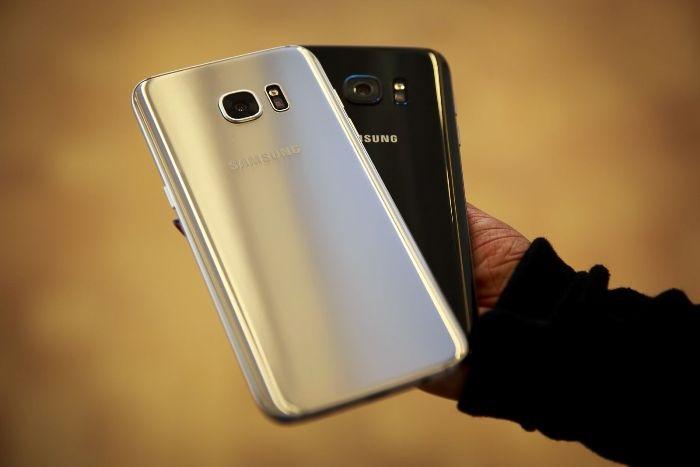 Samsung Galaxy S7 zezadu