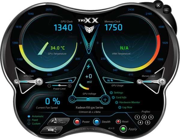 Sapphire Nitro+ RX 570 4GD5 TriXX