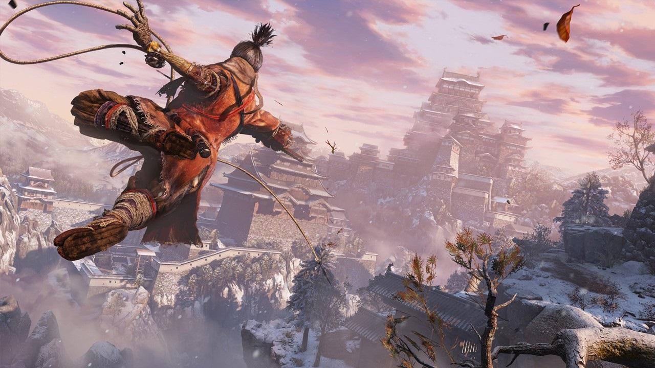 Nejočekávanější hry v roce 2019; Sekiro: Shadows Die Twice, screenshot: hák