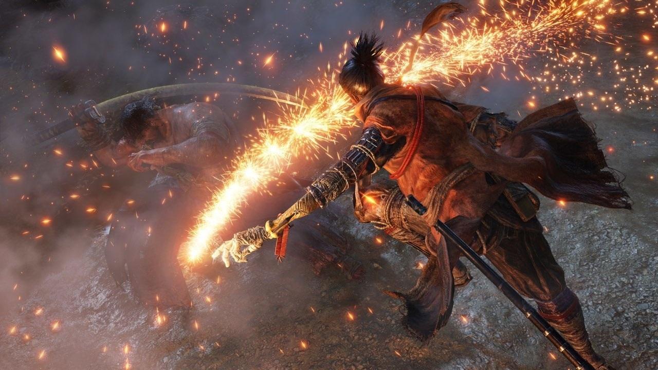 Nejočekávanější hry v roce 2019; Sekiro: Shadows Die Twice, screenshot: ruka