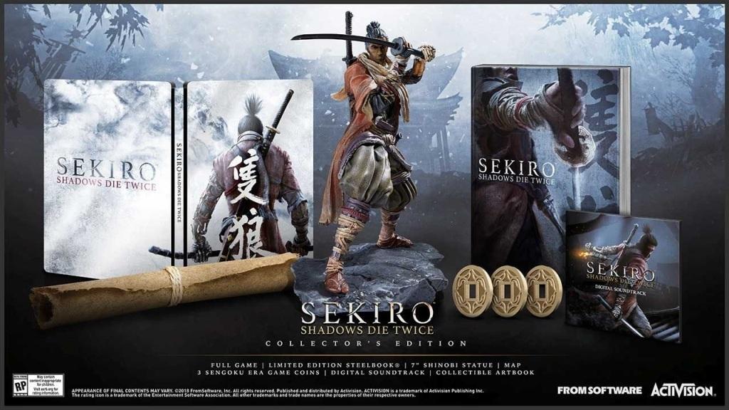 Sekiro: Shadows Die Twice; screenshot: sběratelská edice