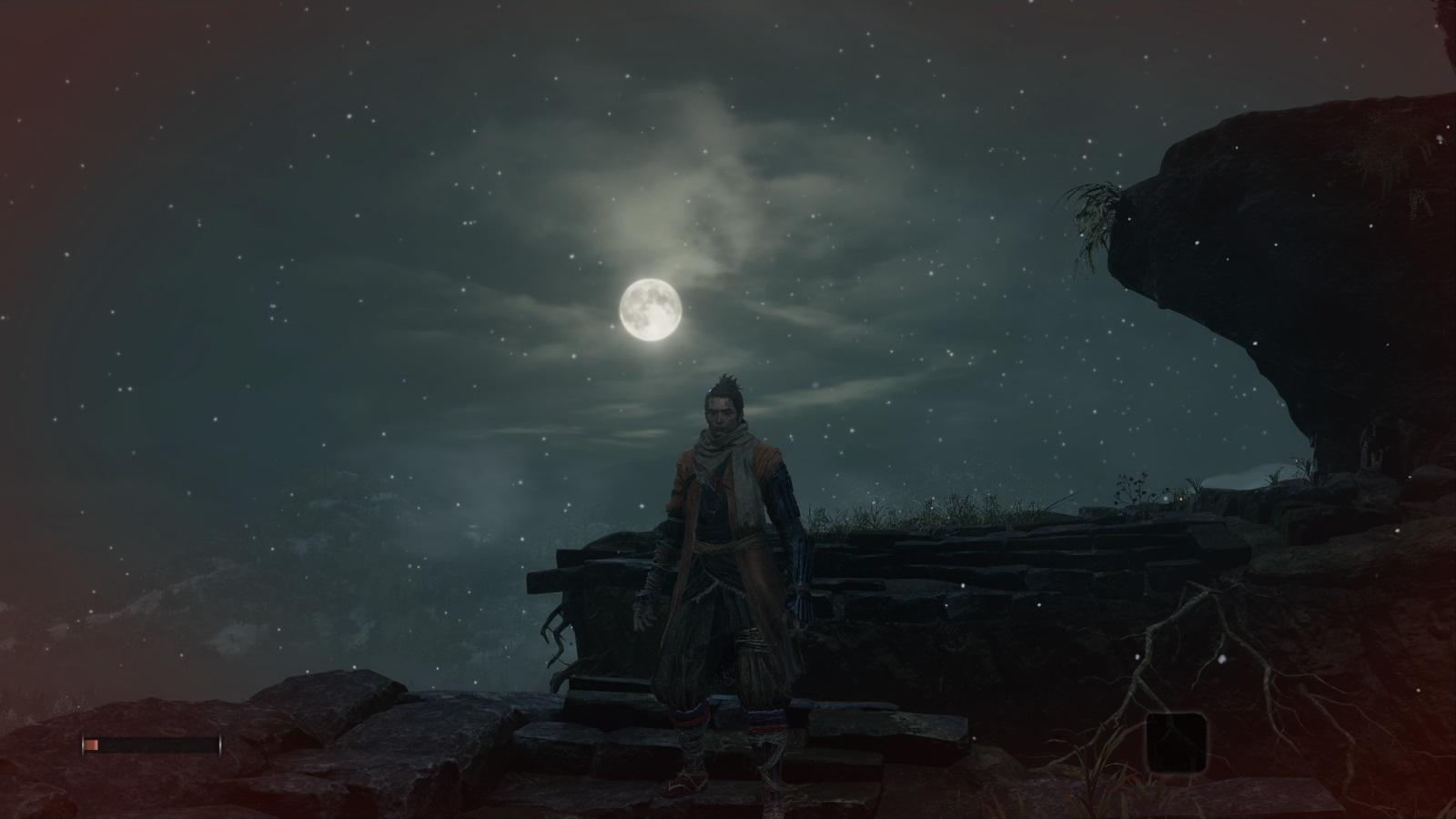 Sekiro: Shadows Die Twice; gameplay: měsíc
