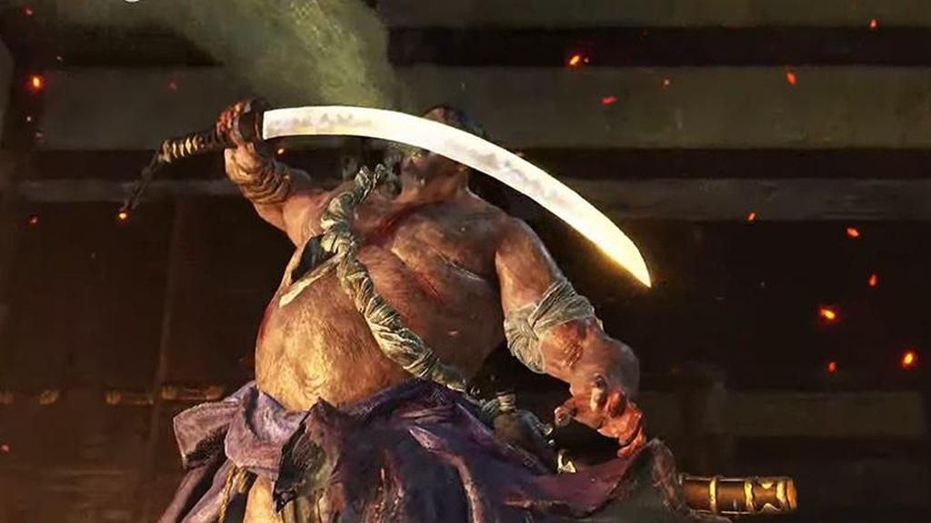 Sekiro: Shadows Die Twice; screenshot: nepřítel