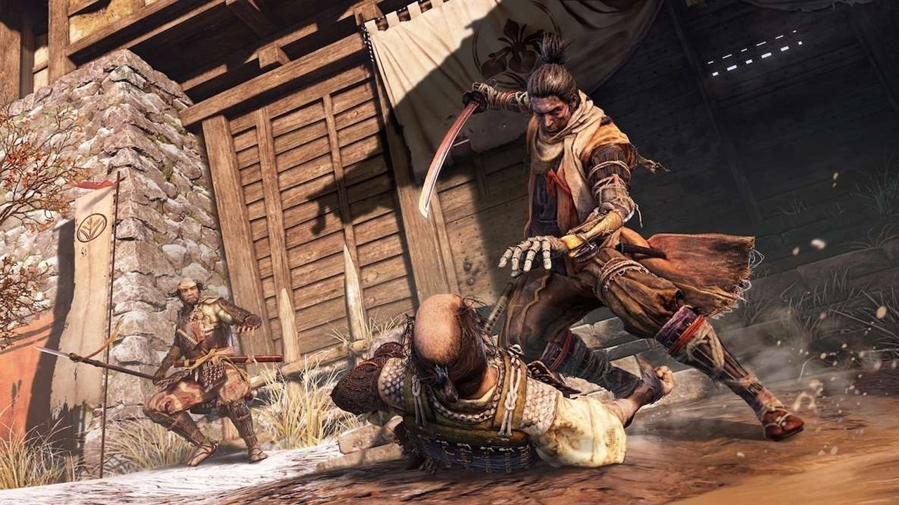 Sekiro: Shadows Die Twice; screenshot: zásah