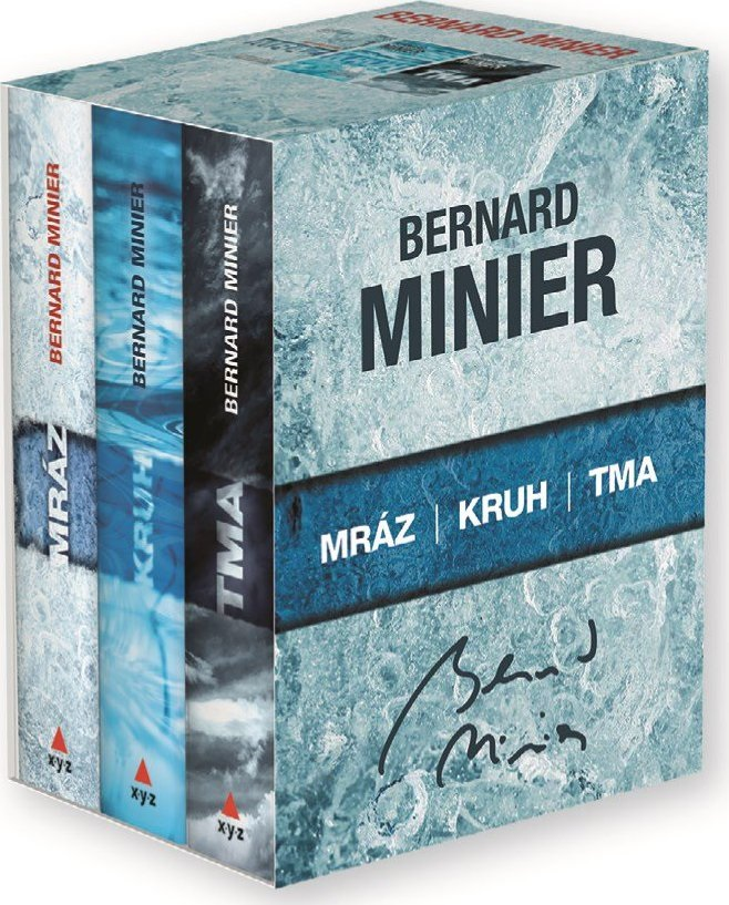 Kniha; Mráz; Kruh; Tma; Bernard Minier