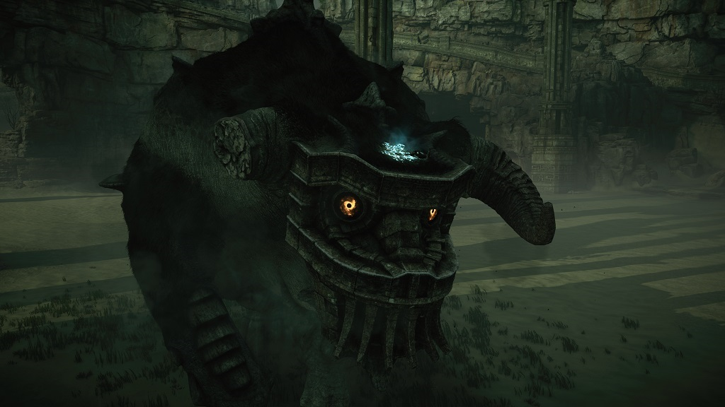 Shadow of the Colossus; Gameplay: boj, kolos