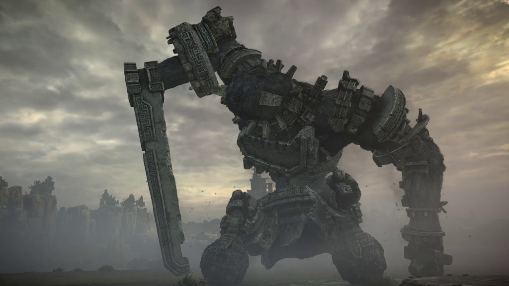 Shadow of the Colossus; Kolosus na kolenou