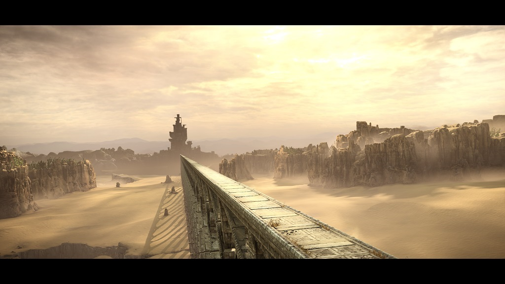 Shadow of the Colossus; Gameplay: kamenný most