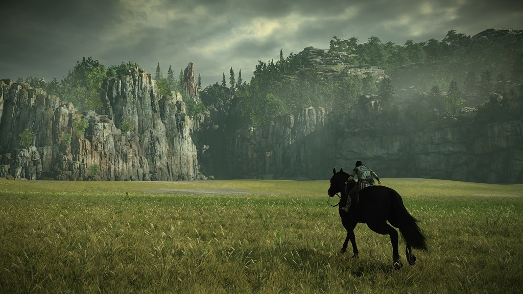 Shadow of the Colossus; Wallpaper: příroda, Agro