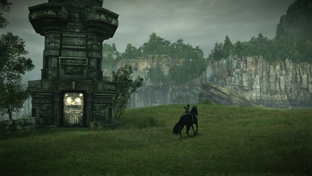 Shadow of the Colossus; Gameplay: Svatyně