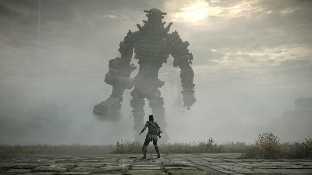 Nejlepší hry; Shadow of the Colossus; Wallpaper: třetí boss