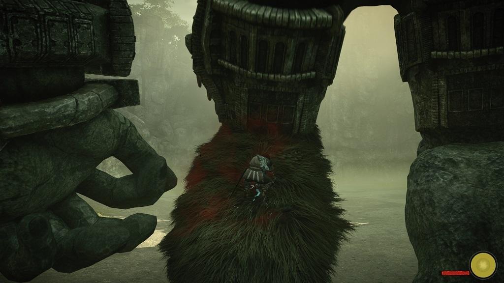 Nejlepší hry; Shadow of the Colossus; Gameplay, zásah