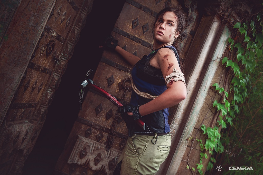 Shadow of the Tomb Raider; Zuzana Rajdlová, Lara Croft, chrám
