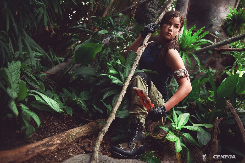 Shadow of the Tomb Raider; Zuzana Rajdlová, Lara Croft, jungle