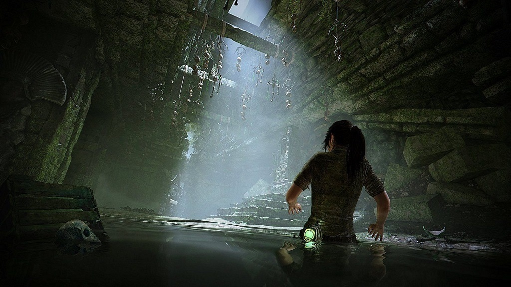 Shadow of the Tomb Raider; screenshot: dungeon