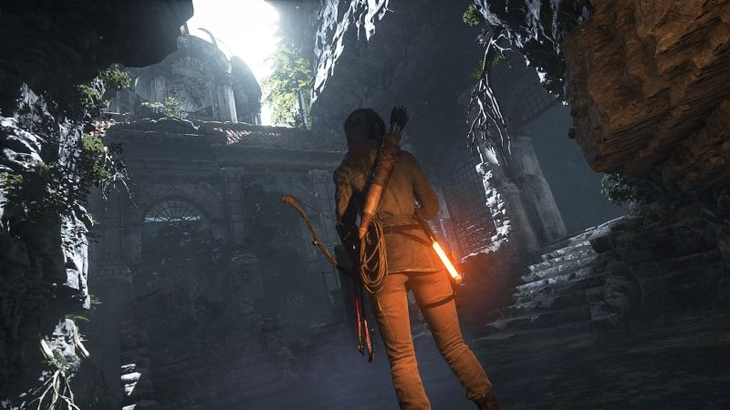 Shadow of the Tomb Raider; screenshot: hrobka