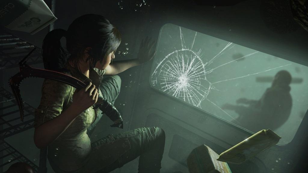 Nejočekávanější hry v září 2018; Shadow of the Tomb Raider, screenshot: pod vodou