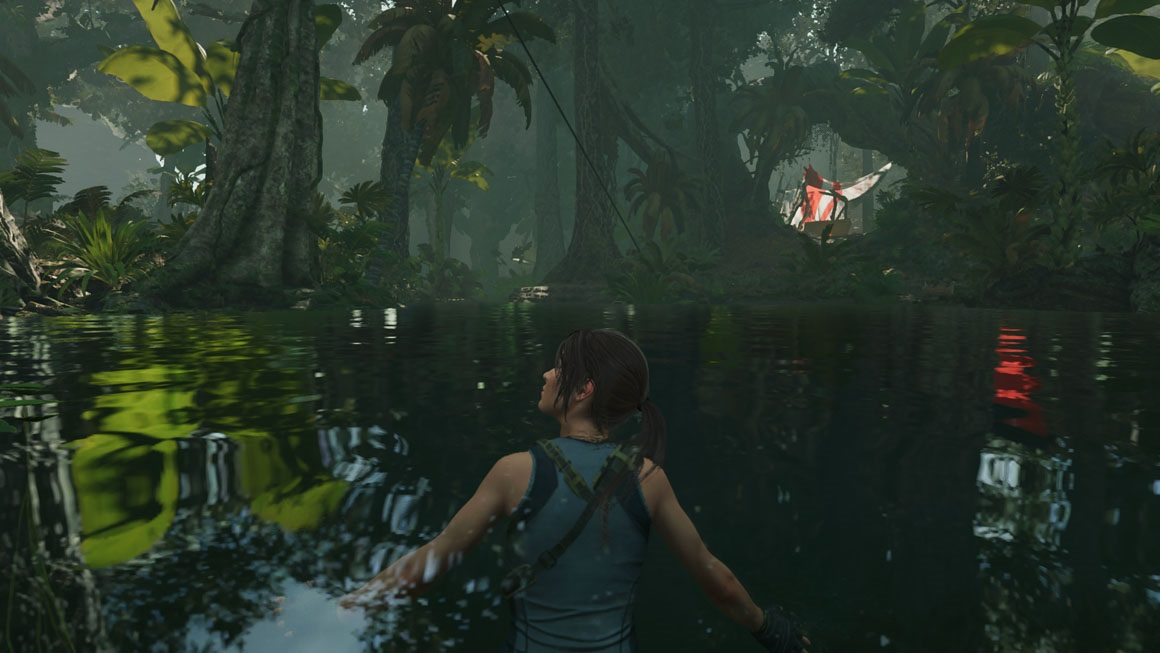 Shadow of the Tomb Raider - Screen Space Reflections