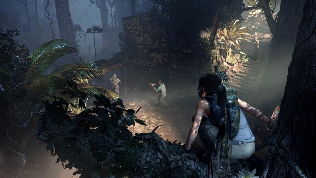 Nejočekávanější hry v září 2018; Shadow of the Tomb Raider, screenshot: stealth
